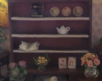 Dollshouse miniature cabinet 1/24 one scale kit in Art Deco style.