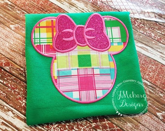 Girl Mouse Custom embroidered Disney Inspired Vacation Shirts for the Family! 911a