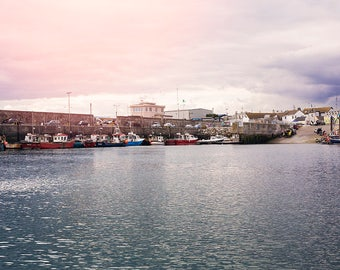 Irish fishing boats,harbour photography, coastal harbour photography,ocean art print,fishing boats in a harbour,waterfront art print,Ireland