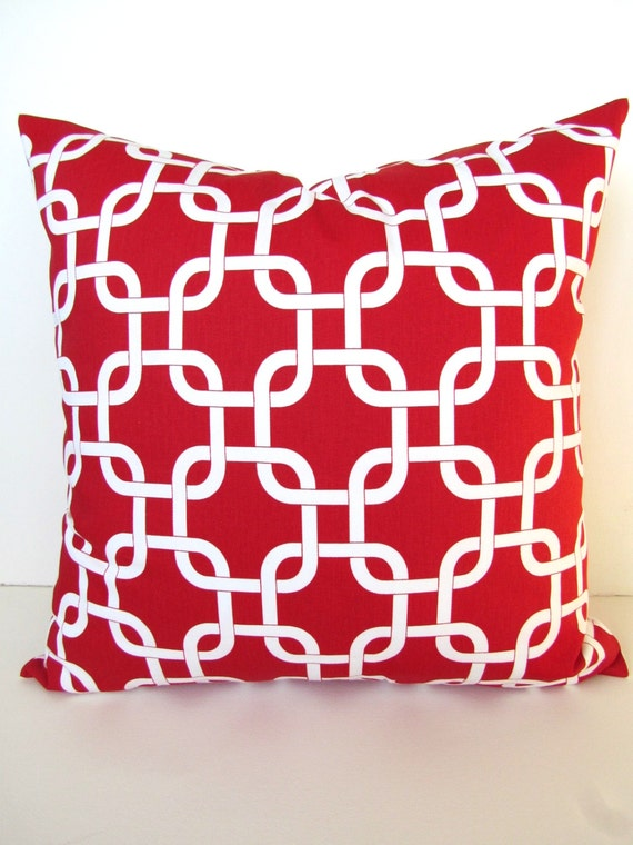 Red Throw Pillows Etsy : RED PILLOWS Red Throw Pillows Red Throw Pillow Cover Red