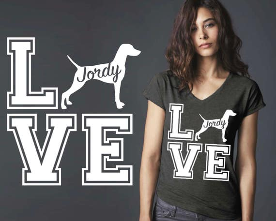 Vizsla | Vizsla Dog | Dog Shirt | Dog Lover Gift | Custom T-shirts | Personalized T-shirts | Inspirational T-shirt | Korena Loves