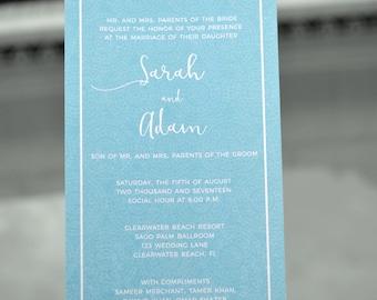 Downloadable Wedding Invitations | Nikkah | Sangeet | Indian