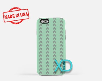 Tribal Phone Case, Tribal iPhone Case, Arrow iPhone 7 Case, Green, Gray, Arrow iPhone 8 Case, Tribal Tough Case, Clear Case, Bohemian