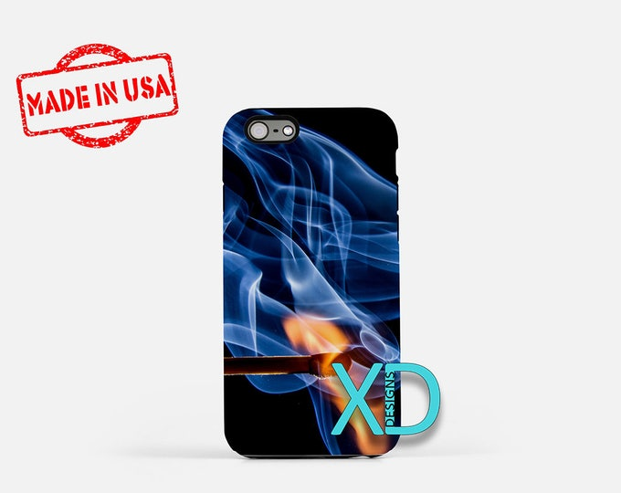 Smoke iPhone Case, Fire iPhone Case, Smoke iPhone 8 Case, iPhone 6s Case, iPhone 7 Case, Phone Case, iPhone X Case, SE Case New