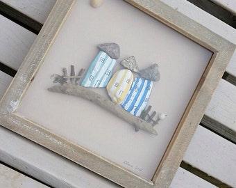 Pebble Art. Pebble Beach House. Beach Houses. Seaside Picture.