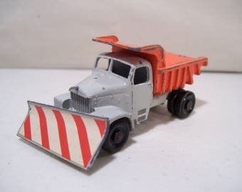 Vintage Matchbox Snow Plow Die-cast Truck, No. 16