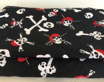 Skull and Cross bones Pirate fabric