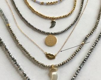 Gold Vermeil Kiss Necklace