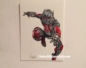 Original Ant-Man Sketch Trading Card