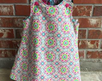 Reversible A-line dress size 4