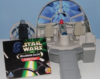 Star Wars Millennium Falcon CD-ROM Playset - Video Computer Game - Explore the Star Wars Universe from your PC Keyboard - Ages 5 and Up