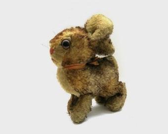 Old Steiff Hare - 1960s Bunny  // height 5,90'
