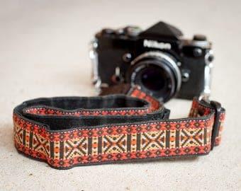 Vintage Hippy Camera Strap