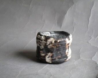 guinomi wabi-sabi Qader tea bowl Tea Cup yunomi handmade ceramic Tea Cup