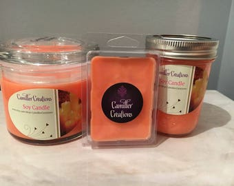 Caribbean Escape Natural Soy Candles