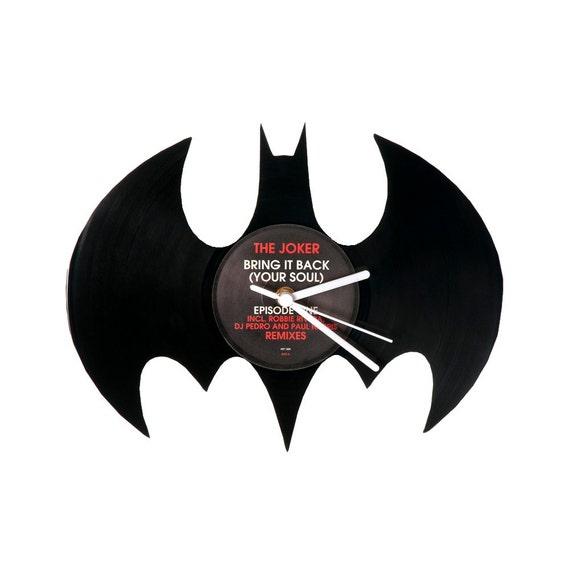 Vinyl Clock Batman