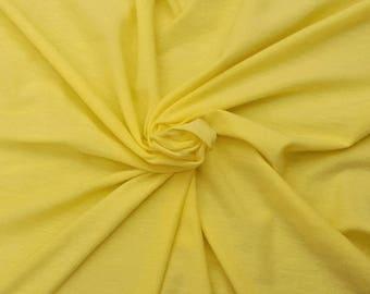 Grapefruit Cotton Spandex Fabric Jersey Knit By Yard 4 Way Stretch #115 8/16