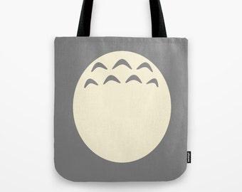 Totoro Tote Bag, Totoro Bag, Studio Ghibli Totebag, Totoro Shoulder Bag, Totoro Bag, Miyazaki Bag, Totoro Totebag, Totoro Tote