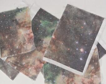 Galaxy Fabric Squares