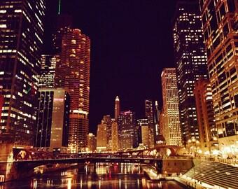 The Loop-Chicago-Fine Art-Night-Photography-Romance