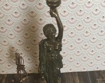 Miniature Art Deco lamp