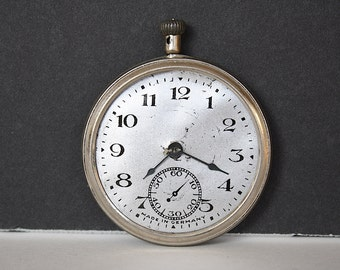 Vintage Toy Pocket Watch - Toy Watch - Vintage Timepiece - Photography Prop