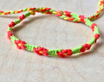Daisy Chain Friendship Bracelets