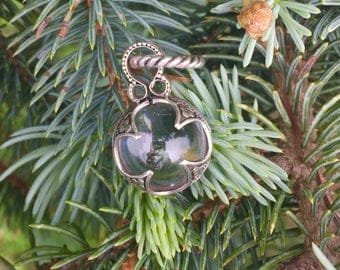 Sterling Silver Crystal Quartz Gotland Pendant