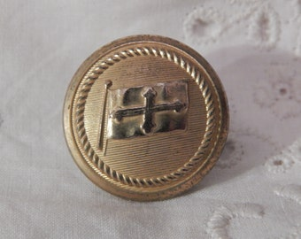 Baltimore Mail Steamship Company Uniform Button