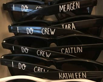 Custom Bachelorette Sunglasses