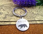Mama Bear Key Chain Pendant New Mom Proud Mom