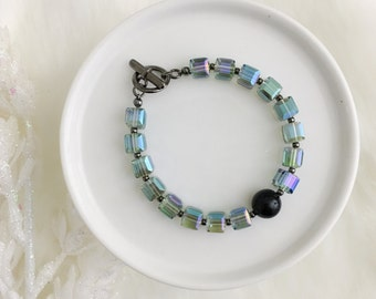 Last one- Iridescent Shimmer Bracelet - SURPRISE RELEASE - Holiday Collection