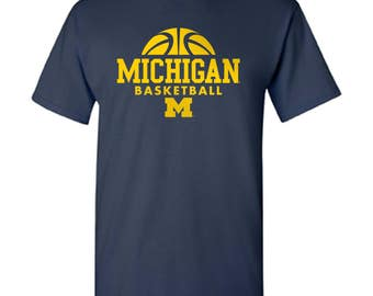 Michigan Wolverines Basketball Hype T-Shirt