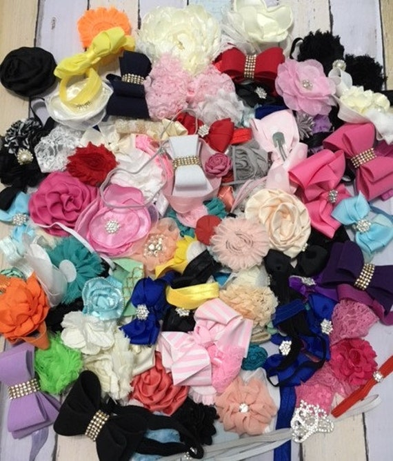 Baby Girl Headband Samples Sale. 3 for 3 dollars plus shipping, Cheap headbands, very nice quality.