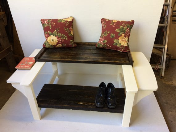 The Shoeshine Bench from Feath & Kee