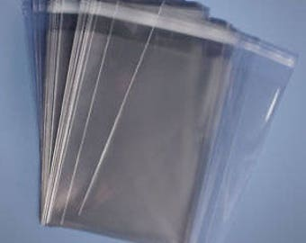 200 10 x 13 Clear Resealable Cello Bag 1.6 Mil Plastic Envelopes Lip & Tape Self Adhesive Cellophane Bag