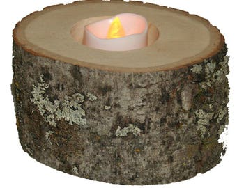 Basswood - Small Candle