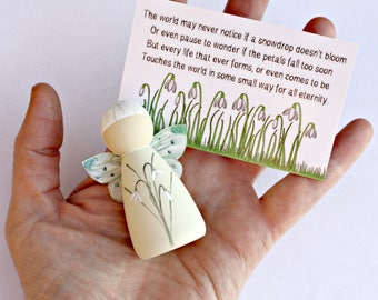 Snowdrop Fairies - Miscarriage gift - Baby loss memorial - Sleeping Angel Gift - Bereaved mum gift - Bereavement Gift - Sympathy Gift
