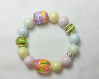 Pastel Colours of Easter Bracelet