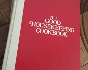 The Good Housekeeping Cookbook, vintage cookbook, Good Housekeeping Books