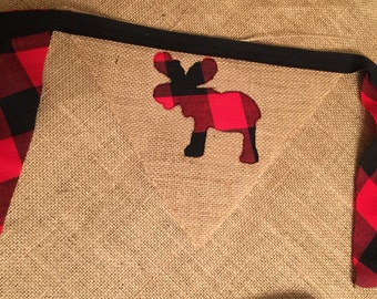 Lumberjack triangle banner bunting