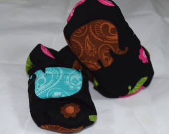 Elephant Baby Booties One Size Fits Most 0-18 months