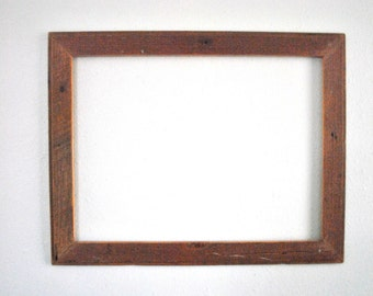18 x 24 Distressed Rough Interior Ship Lap Wood Frame- Late 1800's Ranch Barn, Rustic and Reclaimed One-of-a-kind
