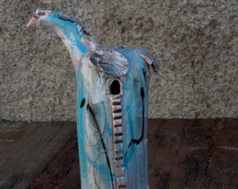 The Trojan Horse, Ceramic Sculpture