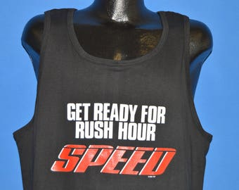 90s Speed Get Ready For Rush Hour t-shirt Large