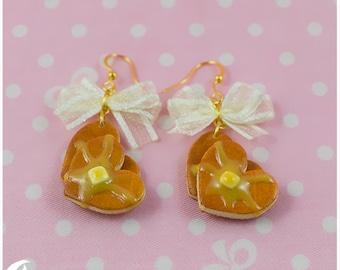 Sweet honey pancakes Earrings