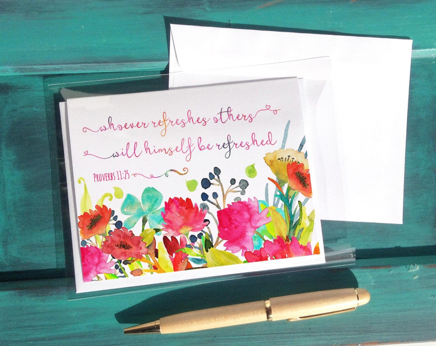 Refreshing others jw greeting cards