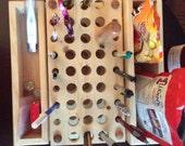 Custom Knitting Rack
