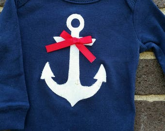 Anchor's Away Onesie