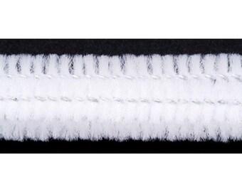 Chenille Stems - 15mm - White - 12 pieces (dar1042810)